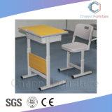 現代青い中学校の教室の家具学生の子供の机および椅子(CAS-SD1837)