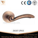 Цинкового сплава Lacth двери ручки на мебели, оборудования (Z6287)
