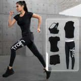 5pcs/Set Hot Sale Europe et en Amérique Active Wear femmes Sportswear