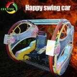 Giro felice dell'automobile di barra di Leswing Car/Le di alto di sicurezza giro dell'oscillazione per i giochi dei bambini dell'interno & esterni