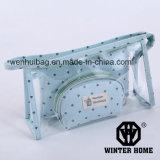Les points clairs de sac de lavage de PVC pochent le sac cosmétique