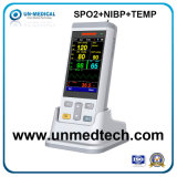 Monitor de Sinais vitais do novo dispositivo portátil com suporte para soro