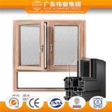 China Weiye Personalizar el aluminio/aluminio/Perfil de aluminio para la combinación de la ventana