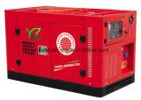 Комплект генератора GF3/520kw Weiman тепловозный с звукоизоляционным