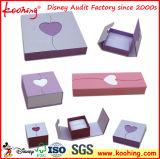Hechos a mano de pintura brillante de alta/caja de joyería Anillo Regalo Box