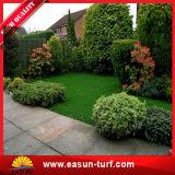 Естественная смотря синтетическая трава для сада Landscaping дерновина украшений