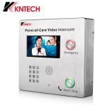 Koontechのビデオ相互通信方式Knzd-60ビデオDoorphoneのパブリックの通話装置