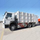 HOWO 6X4 Gargage trasporta i camion su autocarro del compressore dell'immondizia dei rifiuti