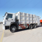 HOWO 6X4 Gargage는 졸작 쓰레기 압축기 트럭을 나른다
