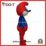 中国OEMの習慣は工場に青い大人の漫画のマスコットの衣裳をする
