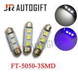 꽃줄 자동 번호판 빛 5050 3SMD 차 LED 빛