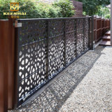 Rete fissa di alluminio di segretezza di obbligazione del giardino della decorazione esterna