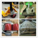 Carro de paleta manual integrado de la mano de la PU Weheel de la bomba