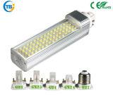 2018 recentemente progetta l'indicatore luminoso 5W 15W 20W della spina di G24 E27 LED di RoHS G23 del Ce