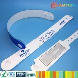 MIFARE klassischer 1K Verbundplastikwegwerf-RFID Wristband