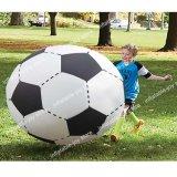 100cm-200cmの子供のための巨大で膨脹可能なフットボールのおもちゃ、大人、子供のヤードのサッカーゲームのための屋外浜のおもちゃ