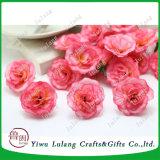 人工絹の服の装飾のための小型茶ローズの頭状花