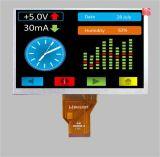 7 Bildschirm-Baugruppen-Bildschirmanzeige-kapazitives Fingerspitzentablett des Zoll-TFT LCD