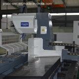 센터 Pratic Pia를 기계로 가공하는 CNC 알루미늄 물자