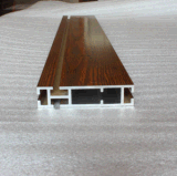 Materiale da costruzione di alluminio anodizzato argento 6063