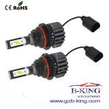 防水明るい4000lm 9007車LEDのヘッドライト