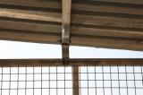 estábulo do cavalo com telhado