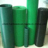 Acoplamiento de alambre soldado galvanizado cubierto PVC para la construcción