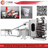 Máquina de impressão Offset para a bacia plástica Gc-6180 do copo