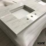 Blanc pur Quartz comptoir en pierre artificielle