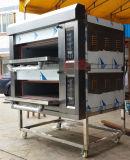 Oven van het Gas van 2 Laag van de nieuwe Technologie de Industriële Draagbare (zmc-204M)
