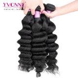 Yvonne-neues Beschaffenheits-menschliches Jungfrau-peruanisches Haar-grosse einschlagrotation