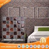 Teja Nuevo Diseño de la sala de pared de cristal Mosaico de vidrio (G848005)