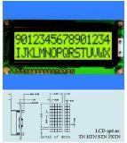 Gelbes Grün LCD-Bildschirmanzeige Stce16205 mit Hintergrundbeleuchtung