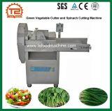 Tagliatrice di verdure verde degli spinaci e della taglierina