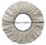 Колесо хлопка авиалинии Buffing полируя (косое) для металла