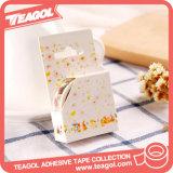 Cinta adhesiva de las etiquetas engomadas decorativas de la nota, cinta de papel de Washi