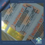 Papier autocollant hot stamping hologramme