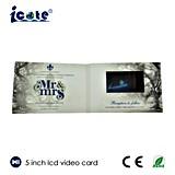 결혼식 기념품 선물을%s 5.0 인치 LCD 영상 브로셔