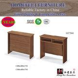 Vector simple de madera de la escuela para los estudiantes y los profesores