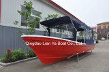 de Kajak van de Boot van Panga van de Vissersboot van de Vissersboot van de Glasvezel van 7.6m