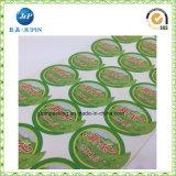 Aperfeiçoar para etiquetas do produto, etiqueta cosmética da etiqueta do vinil adesivo (jp-s154)
