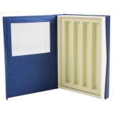 Papierzigarre-Geschenk-Kasten-Luftfeuchtigkeitsregler-verpackenkasten, Zigarrenschachtel