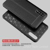 Het Geval van het Patroon TPU van het Leer van het litchi voor Huawei P20