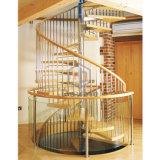 Los pasos de madera escaleras de hierro forjado Calculadora de escalera de caracol interior