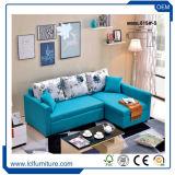 De modèle de pli bâti de sofa neuf de dormeur de tissu à l'extérieur
