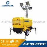Genlitec力(GLT4000-9H)のパーキンズエンジンを搭載する油圧照明タワー