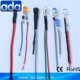 La nouvelle borne sur le fil de la résistance à LED avec la CE