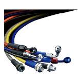 En acier inoxydable résistant à l'alésage lisse en Téflon PTFE flexible de frein