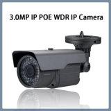 macchina fotografica impermeabile del IP della rete del CCTV di obbligazione del richiamo di 3MP WDR