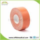 Green 2.5cm x 5m de colores disponible cinta de la terapia de kinesiología ISO Ce FDA